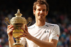 IC of GB Member, Andy Murray, wins second Wimbledon Title
